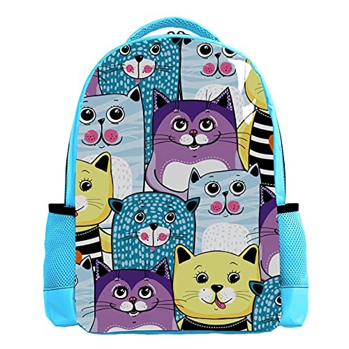Mochilas para el bolso de la escuela al aire libre en Bulk Wholesale Back Packs Patrón de unicornio, Color04, 26.6x20x42cm/10.5x8x16.5 in,
