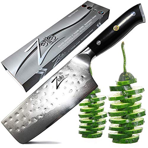 Zelite Infinity Nakiri Chef Knife 6 Inch