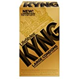 Lifestyles Kyng Gold Condoms, 12-Count
