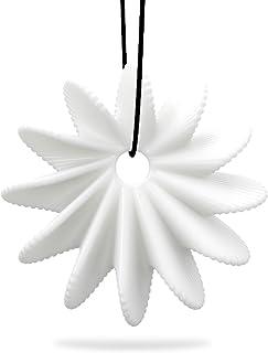 مجموعة من 2، إكسسوارات قلادة مجوهرات دوكولر تومفيل ثلاثية الأبعاد مطبوعة بزهرة متفتحة أنيقة للنماذج قلادة مجوهرات