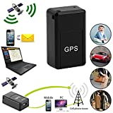 Mini Magnetic Car SPY GSM GPRS Tracker GPS Real Time Tracking Locator Anti-lost Require SIM and MicroSD Memory Card(not included),Mobile Phone to Tracker,20 * 14 * 40mm