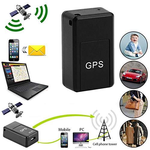 Mini magnético para coche SPY GSM GPRS Tracker GPS en tiempo real, localizador de seguimiento antipérdida, requiere tarjeta SIM y MicroSD (no incluida), teléfono móvil a rastreador, 20 x 14 x 40 mm