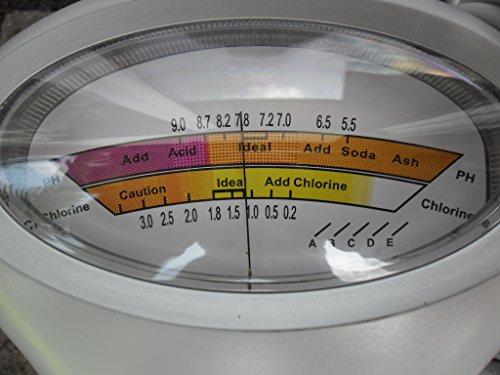 FSR pH + Chlor Messgerät Pool Wassertester Meter Schwimmbad Quick up Tester Messgeraet Meter