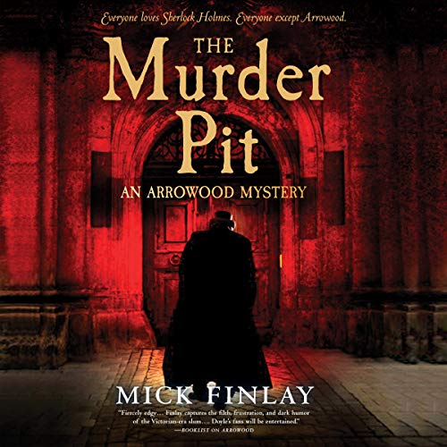 The Murder Pit audiobook cover art