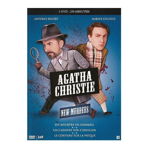 Les Petits Meurtres d'Agatha Christie - Coffret 3 episodes: Le Couteau sur la Nuque / Un Meurtre en Sommeil / Un Cadavre sur l'Oreiller [3 DVD]