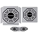Dharma Initiative Logo Lost Compatible with PS4 Slim controller and console skin sticker protective cover wireless/wired gamepad controller