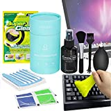 Screen Cleaner Laptop Computer PC Screen Cleaning kit 10 in 1, PC Keyboard Cleaning Dusting Remover Suitable for Laptop Screen Camera Lens TV Screen Audio & Video Lens Cleaning