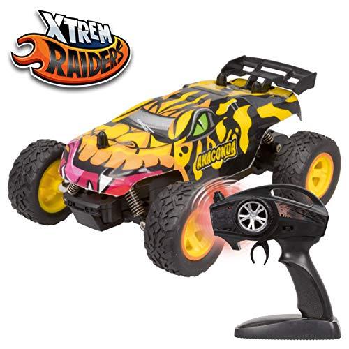 Xtrem Raiders Anaconda, Todoterreno 4x4, teledirigidos para niños, Coches RC, radiocontrol, Color (XT180766)
