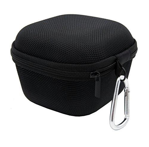 EVA キャリングケース ハード 収納 カバー 専用収納バッグ と互換性のある Sony SRS-X11 ポータブル ブルートゥーススピーカー (黒)