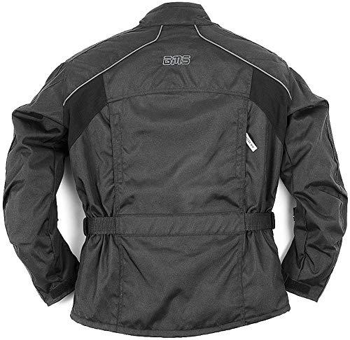 SunnyTrade Germas Jacke Memphis - Textiljacke für Motorradfahrer - Bequeme und super ausgestattete Biker-Jacke, Größe:XXL