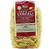Oltresole - Pasta di grano duro Senatore Cappelli Biologica Italiana, formato Penne 500 g - pasta con farina di senatore cappelli da agricoltura BIO italiana, a basso indice di glutine