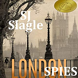 London Spies audiobook cover art