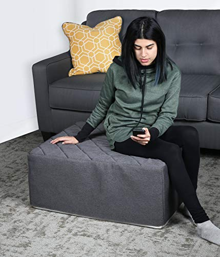 Milliard Tri Fold Ottoman Cover Only for The 31 Inch Mattress, 4 inch Thick