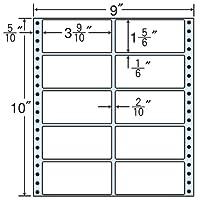 東洋印刷 タックフォームラベル 9インチ ×10インチ 10面付(1ケース500折) M9Z