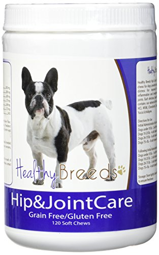 Healthy Breeds French Bulldog Hip and Joint Care 120 Count