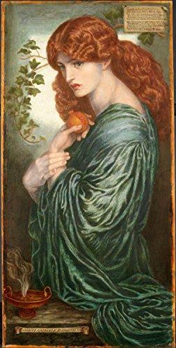 Gifts Delight Laminated 24x47 Poster Dante Gabriel Rossetti - Proserpine