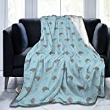 Yonjiq Kiwi Birds Indigenous New Zealand Flannel Fleece Microfiber Throw Blanket Luxury Lightweight Cozy Couch Bed Super Soft and Warm Plush Cover 50' x40