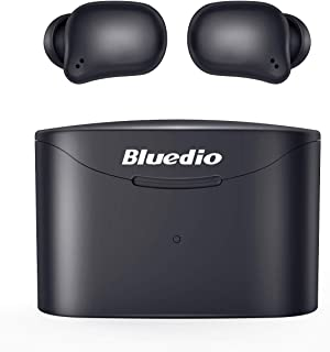 True Wireless Earbuds, Bluedio T Elf 2 TWS Bluetooth Smart Touch Headphones in-Ear Earphones(Bluetooth 5.0, Built-in Mic, ...