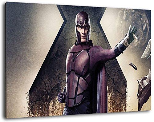 Xman Format 120x80 cm Bild auf Leinwand, XXL riesige Bilder fertig gerahmt mit Keilrahmen, Kunstdruck auf Wandbild mit Rahmen