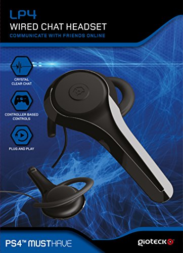 Playstation 4 - LP4 WIRED CHAT HEADSET PS4