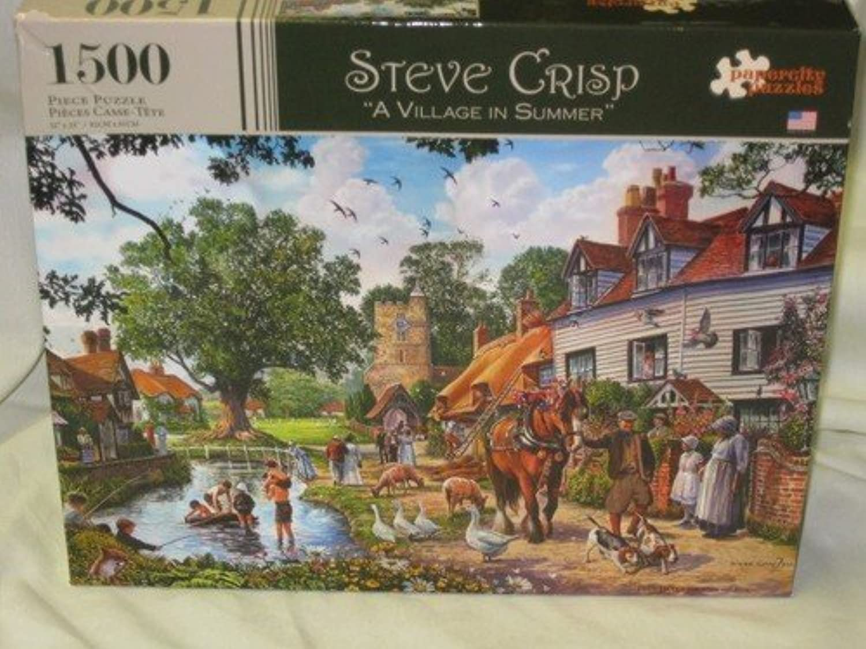 producto de calidad Steve Crisp A Village in Summer Summer Summer by Steve Crisp  precioso