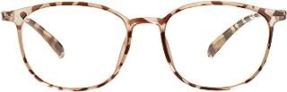 Blue Light Blocking Glasses Women Men, Super Lightweight Clear Lenses Anti Glare Computer Glasses