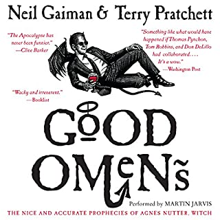 Page de couverture de Good Omens