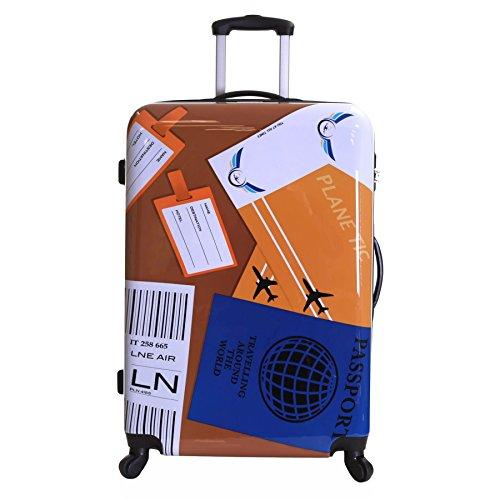 Karabar Falla 76 cm Maleta de 4 Ruedas, Viajes mundiales
