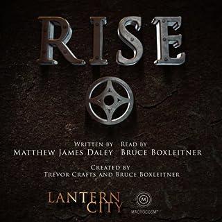 Rise (A Lantern City Illustrated Novel) audiobook cover art