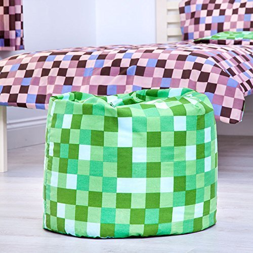 Prime Ready Steady Bed Green Pixels Design Childrens Filled Bean Ocoug Best Dining Table And Chair Ideas Images Ocougorg