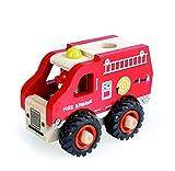 Heico - Egmont Toys- Camion de Pompiers en Bois, 511041