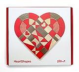 Heart Shapes–Madera de juguete Puzzle de Miller Goodman