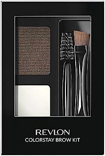 Relvon Brow Kit Dark Brown, Revlon