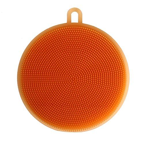 CA Mode(JP) シリコン キッチンスポンジ 食器洗い 抗菌 柔らかい 強い洗浄力 掛けられる