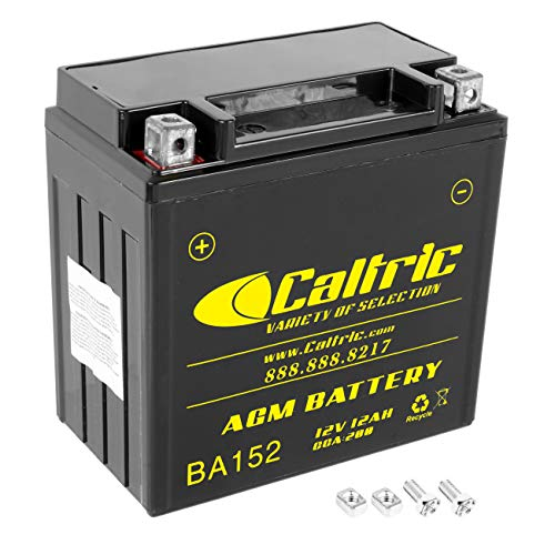 Caltric compatible with Agm Battery Honda Trx450Es Trx450S Trx-450S Foreman 450 4X4 Es 1998-2001