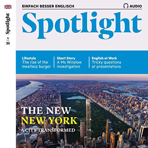 Spotlight Audio - The new New York. 1/2020 cover art