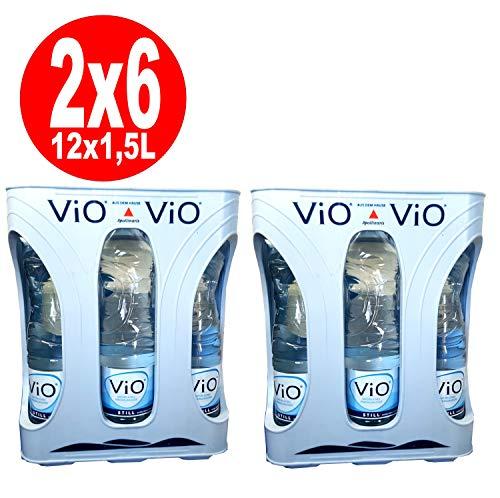 2 x 6x1,5 Liter ViO Mineralwasser still 6x1,5 Liter Originalkiste inklusive 6 Euro Pfand MEHRWEG-