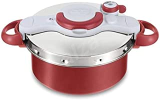 Tefal Clipso Minut Duo Pressure Cooker 5L Red/Silver 5 liter