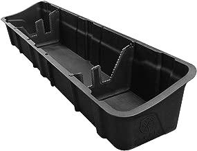 Tyger Auto Underseat Storage Box TG-CB5F2228 for 2015-2019 Ford F150 Crew Cab | Black Textured Rear Under Seat Organizer Cargo Box