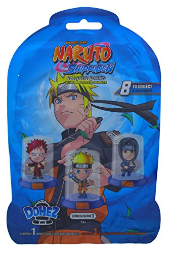 Domez Naruto Shippuden - Series 1 - Collectible Minis   8 to Collect   Contains 1 Naruto Collectible Character   Collect, Connect & Display These Mini Action Figures   Cool Anime Toy Figurines
