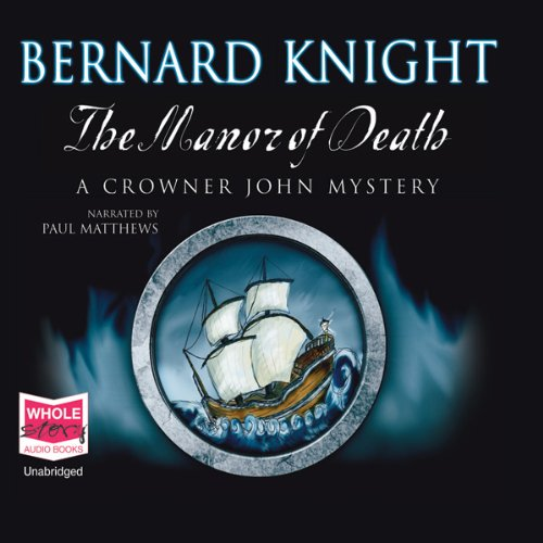 The Manor of Death audiobook cover art