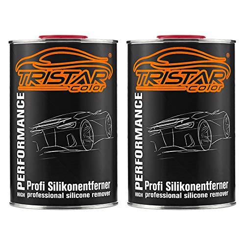 TRISTARcolor 2 Liter Silikonentferner Entfetter Reiniger für Autolack Basislack RAL Lack Grundierung