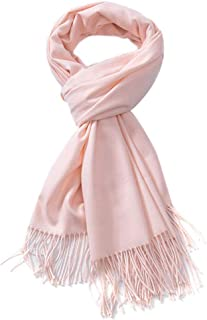 Cashmere Scarf for Ladies Gift Idea Fashion Warm Wool Wrap Shawl Winter Stole for Women