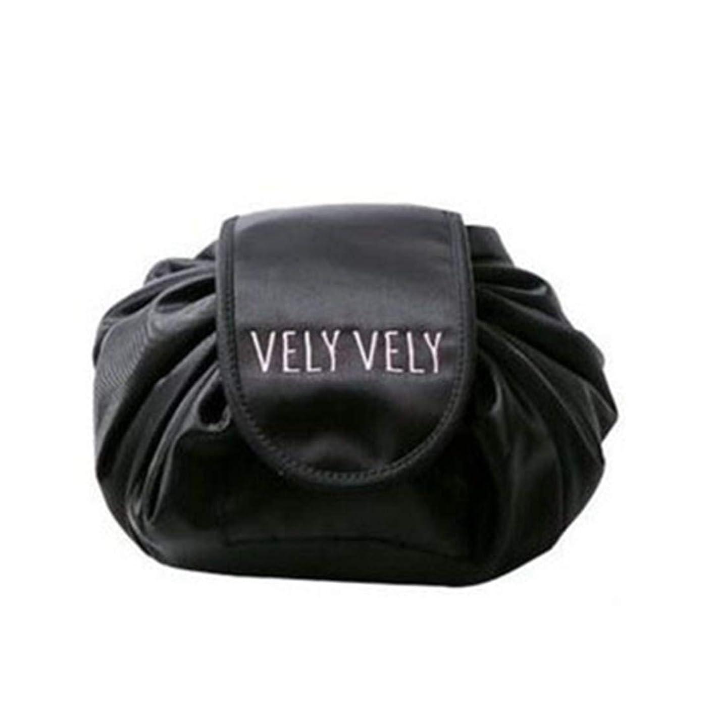 真似る海外でベーリング海峡[テンカ]化粧バッグ 収納 メイクバッグ 化粧ポーチ 大容量 レディース 旅行 おしゃれ 折畳式 巾着型 防水