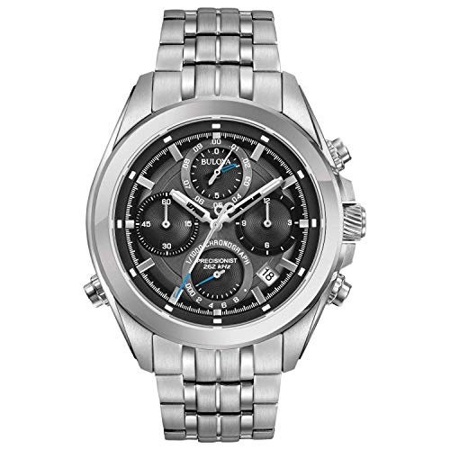 Bulova Precisionist - Herren Armbanduhr - Chronograph mit Armband aus Edelstahl