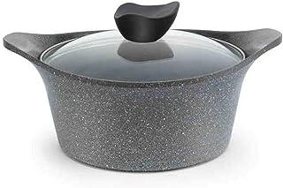 Casserole Ceramic Casserole Noodle Pot With Lid Mini Soup Pot Household Binaural Anti-scalding Pot Ramen Pot Induction Coo...