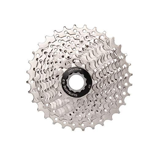 10 Velocidad Bici del Camino de Casete, 11-32T Súper Ligero de La Bicicleta del Volante, Las Partes Modificadas Compatible con Shimano, SRAM, sensah, LTWOO, Microshift