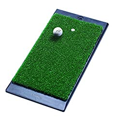 "small Callaway FT Launch Zone Rubber Pad, 8 ""x 16 ″, Green"