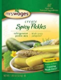Mrs. Wages Medium Spicy Pickles Refrigerator Pickle Mix (VALUE PACK of 12)