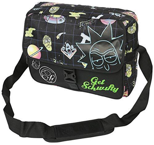 Rick and Morty Space AOP Laptop Messenger Bag